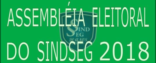 Assembléia Eleitoral 2018