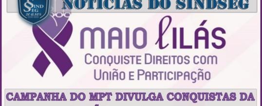 Campanha do MPT divulga conquistas dos trabalhadores obtidas pela atuação de sindicatos