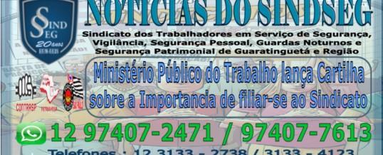 Ministério Público do Trabalho lança Cartilha falando a importância dos trabalhadores serem associados do sindicato