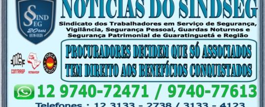 Procuradores do Trabalho entendem que não Associados não tem Direito aos Benefícios Conquistados pelo Sindicato